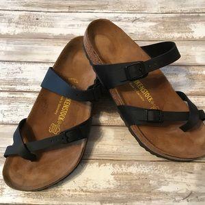 Women's Birkenstock Mayari Black Sandal. Worn 2X!